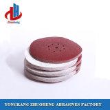 担保付きの研摩剤(VD1209)のための9インチのヴェルクロ研摩の紙やすりで磨くディスク