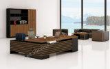 L 모양 현대 간단한 사무실 목제 가구 Excutive 사무실 책상 (BL-GYD26)