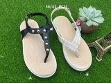 Способ способа ботинок женщин сандалии PVC дуя