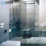 Conexão de vidro resistente decorativos decorativos para duche
