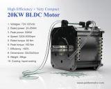 motor de la C.C. de 72V/96V 20kw BLDC /Brushless para el coche eléctrico, barco eléctrico, yate