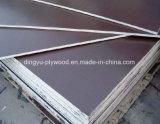 De color marrón/negro/rojo/construcción/Material de construcción/película de primer grado de contrachapado de chopo frente