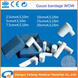 100%年の綿の吸収性のガーゼの包帯の医学ドレッシング