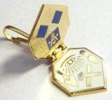 기념품 게스트 선물 최고 질 동점을%s 가진 관례에 의하여 경첩을 다는 접어젖힌 옷깃 Pin