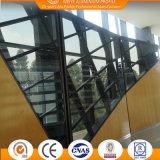 Le point a supporté le système en verre de mur rideau
