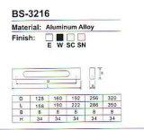 BS-3216 알루미늄 합금 내각 손잡이 시리즈