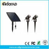Indicatori luminosi chiari solari esterni impermeabili del punto di paesaggio della lampada di IP65 LED