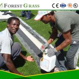 Erba di gioco del calcio delle 2 stelle/campi di football americani artificiali verdi tappeto erboso del campo