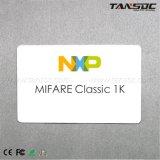 Tansoc RFID NXP MIFARE Classic 1K NFC cartão plástico PVC Smart Card