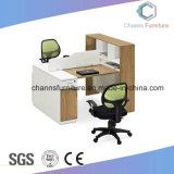 옆 파일 캐비넷 (CAS-W1862)를 가진 정면으로 나무로 되는 사무실 테이블