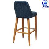 販売ファブリッククッションの金属の現代家具棒椅子