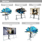 Macchina su ordinazione della stampante della parete della decorazione di nuova tecnologia 3D per dell'interno ed esterno