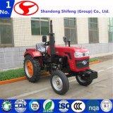 2WD 25 HP agrícola pequeño jardín/Tractor Tractor agrícola la aplicación de grada de discos/Tractor Tractor accesorio/cabeza/tractor cargador frontal/tractores de jardín