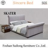 Base moderna della camera da letto di disegno di stile della base americana superiore del tessuto