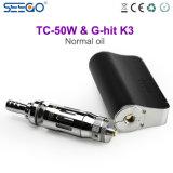 De g-Klap van Seego K3 & tc-50W de Populaire Onzichtbare Dubbele Pen van Vape van Rollen voor Normale Olie