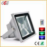 El cambio exterior 10W RGB LED 30W foco con el controlador de luces LED de iluminación exterior