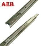 Cassetto aperto automatico di goffratura punteggiato della diapositiva 45mm del cuscinetto a sfere delle sezioni della guida 3-Folding della trasparenza del cassetto
