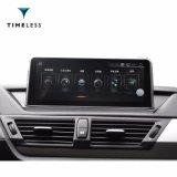 Andriod Timelesslong 차 Orginalscreen 또는 본래 CIC 시스템 (TIA-239)를 가진 BMW X1 E84 (2009-2015년)를 위한 오디오 자동차 부속 GPS 항법