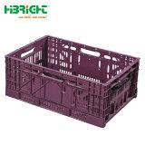 Caixa de engradados de empilhamento de plástico para as frutas e produtos hortícolas