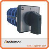 Commutatore rotante 63ampere 1pole, 2pole, 3pole, 4pole 1-0-2
