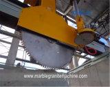 Automatische Steinbrücken-Ausschnitt-Maschinesawing-Marmor-Blöcke in Platten