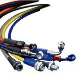 Tubo flessibile liscio automatico fine resistente all'uso del freno del filo di acciaio dell'automobile PTFE
