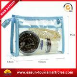 Usine de l'emballage transparent sac de toile cosmétique