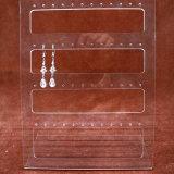 Het acryl Rek van de Vertoning van het Perspex van de Tribune van de Vertoning van Juwelen voor Oorringen