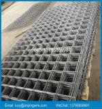 La vente chaude a nervuré le treillis métallique soudé concret d'acier pour béton armé