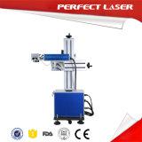 Macchina per incidere in linea del laser della fibra della mosca per metallo con lo schermo di tocco dell'affissione a cristalli liquidi