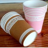 6 cuvettes de boisson de papier d'imprimerie de Flexo de couleurs pour l'usager de festival