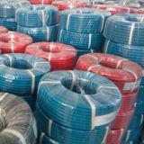Tuyaux d'air en caoutchouc tressés de textile flexible de qualité