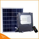 2017 새로운 50W 태양 전지판 플러드 빛 재충전용 LED 옥외 정원 거리 잔디밭 안전 램프