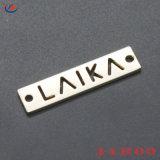 Le Fashion gravé Logo personnalisé Tags Étiquette de métal plaqué / Patch / Etiquettes