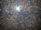 インドのブラウンの花こう岩の平板のタイル
