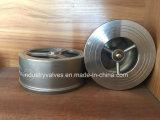 Pn16/40 la válvula de retención de obleas de acero