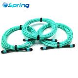 MPO/MTP 10GB cable de cinta de fibra óptica Cable troncal de fibra óptica de MPO