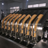 Chocolate em aço inoxidável depositante máquina de fazer biscoitos