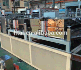 Mit hohem Ausschuss Haustier-Doppelt-Schrauben-Blatt-Extruder-Blatt-Strangpresßling-Maschine