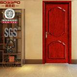 Stile anteriore di mogano del portello interno di Prehung di legno solido (GSP2-026)