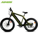 Alliage aluminium 350W Moteur Brushless Pneu large vélo électrique