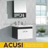 Gabinetes de banheiro modernos da mobília da madeira compensada da laca do estilo (ACS1-L37)