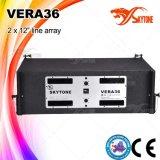 Vera36 강력한 1600watts 선 배열 시스템 스피커