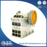 Trituradora de quijada PE250*1000 para la pulverización mineral