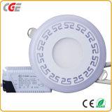 Del Feux de panneau à LED Plafonniers 12+6W ronde Couleur double