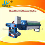 Filtre-presse manuel de chambre de Jack pour le traitement d'eaux d'égout