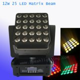 25X12W LED à matrice de déplacer la tête pour laver et lumineux