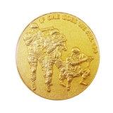 Barato al por mayor de estampación metálica personalizada Token grabado monedas