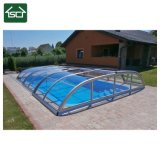 Automático, Luxo e espaço grande piscina exterior de alumínio e compartimento interior abrange