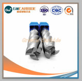 HRC45炭化物の端の製粉カッター